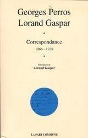 Correspondance 1966-1978 - Intérieur - Format classique
