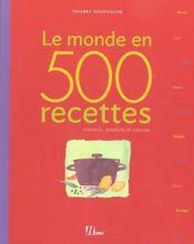 500 Recettes Du Monde - Intérieur - Format classique
