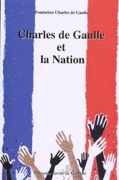 Charles De Gaulle Et La Nation - Intérieur - Format classique