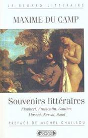 Souvenirs littéraires - Intérieur - Format classique