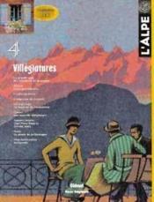 L'Alpe 04 - Villegiatures - Couverture - Format classique