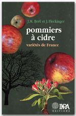 Pommiers A Cidre. Varietes De France - Couverture - Format classique