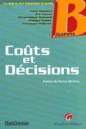 Couts Et Decisions - Intérieur - Format classique