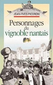 Personnages du vignoble nantais - Couverture - Format classique