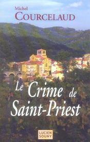 Le crime de saint-priest - Intérieur - Format classique