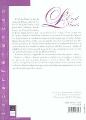 Eveil Des Muses - 4ème de couverture - Format classique