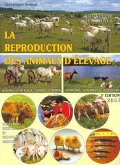 La reproduction des animaux d'élevage (3e édition) - Intérieur - Format classique