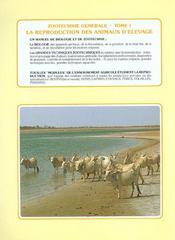La reproduction des animaux d'élevage (3e édition) - 4ème de couverture - Format classique