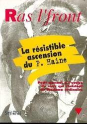 Vigilance Et Resistance Contre Le Front National - Couverture - Format classique