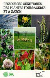 Ressources genetiques des plantes fourrageres et a gazon - Couverture - Format classique
