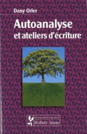 Autoanalyse et ateliers d'écriture - Couverture - Format classique
