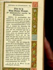 Epitres Et Evangiles - Couverture - Format classique