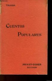 Classiques Espagnols - Trueba Cuentos Populares - Couverture - Format classique