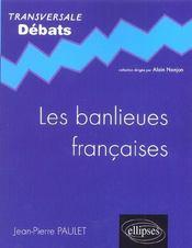 Les banlieues françaises - Intérieur - Format classique
