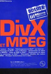 Divx et mpeg - Couverture - Format classique
