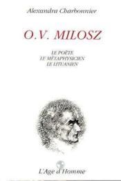 O.V. Milosz - Couverture - Format classique