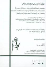 Revue Philosophia Scientiae T.8 - Couverture - Format classique