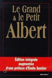 Grand Et Petit Albert - Oeuvre Complete - Couverture - Format classique