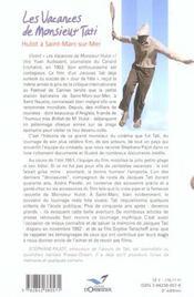 Vacances de monsieur tati (les) - 4ème de couverture - Format classique