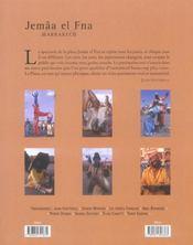 Djemaa el fna ; coeur de marrakech, memoire de l'humanite - 4ème de couverture - Format classique