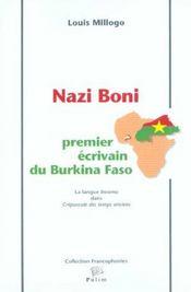 Nazi Boni, Premier Ecrivain Du Burkina Faso. La Langue <I>Bwamu</I> D Ans <I>Crepuscule Des Temps An - Intérieur - Format classique