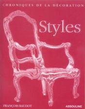 Styles - Intérieur - Format classique