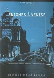 Enigmes A Venise - Intérieur - Format classique