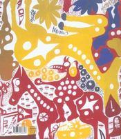 Carlo Zinelli 1916-1974 ; L'Empire Schizophrenique - 4ème de couverture - Format classique