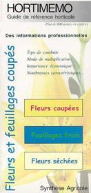 Hortimeno ; fleurs et feuillages coupes - Couverture - Format classique