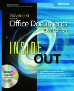 Vente  Advanced microsoft office documents 2007 edition inside out  - Stephanie Krieger