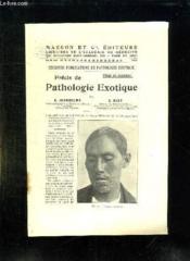 Precis De Pathologie Exotique. - Couverture - Format classique