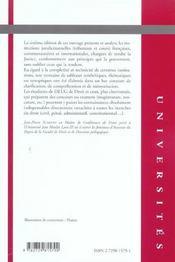 Institutions Juridictionnelles 6e Edition - 4ème de couverture - Format classique