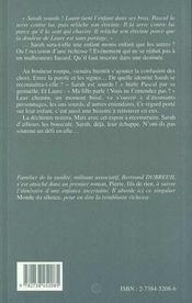 La Dechirure - 4ème de couverture - Format classique