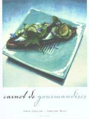 Carnet De Gourmandises - Intérieur - Format classique
