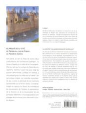 Le Palais de la Cité - 4ème de couverture - Format classique