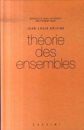 Theorie Des Ensembles (2e Edition) - Intérieur - Format classique