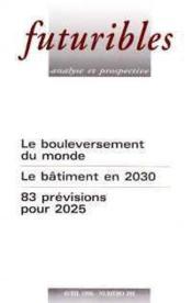 Futuribles N.208 - Couverture - Format classique