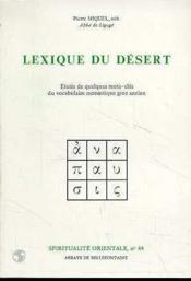 Lexique Du Desert - Couverture - Format classique