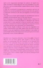 Les Neuf Marches - Histoire De Naitre Et De Renaitre - 4ème de couverture - Format classique