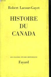 Histoire Du Canada. - Couverture - Format classique