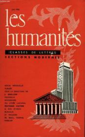 Les Humanites - Classe De Lettres Sections Modernes - Juin 1962 - Couverture - Format classique