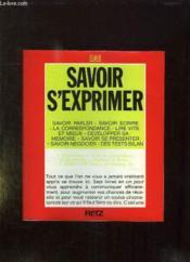 Savoir S'Exprimer - Couverture - Format classique