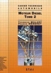 Moteur diesel t.2 - Couverture - Format classique