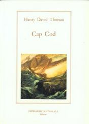 Vente  Cap cod (broche)  - Henry David Thoreau