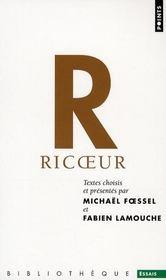 Anthologie ; Paul Ricoeur - Intérieur - Format classique