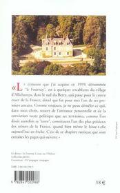 Un Petit Sejour En France ; Pages De Journal - 4ème de couverture - Format classique