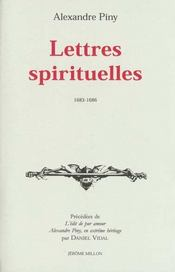 Lettres Spirituelles - Intérieur - Format classique