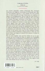 Lettres Spirituelles - 4ème de couverture - Format classique
