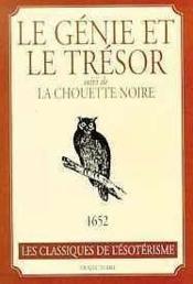 Genie Et Le Tresor - Chouette Noire - Couverture - Format classique