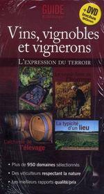Vins, vignobles et vignerons ; l'expression du terroir - Intérieur - Format classique